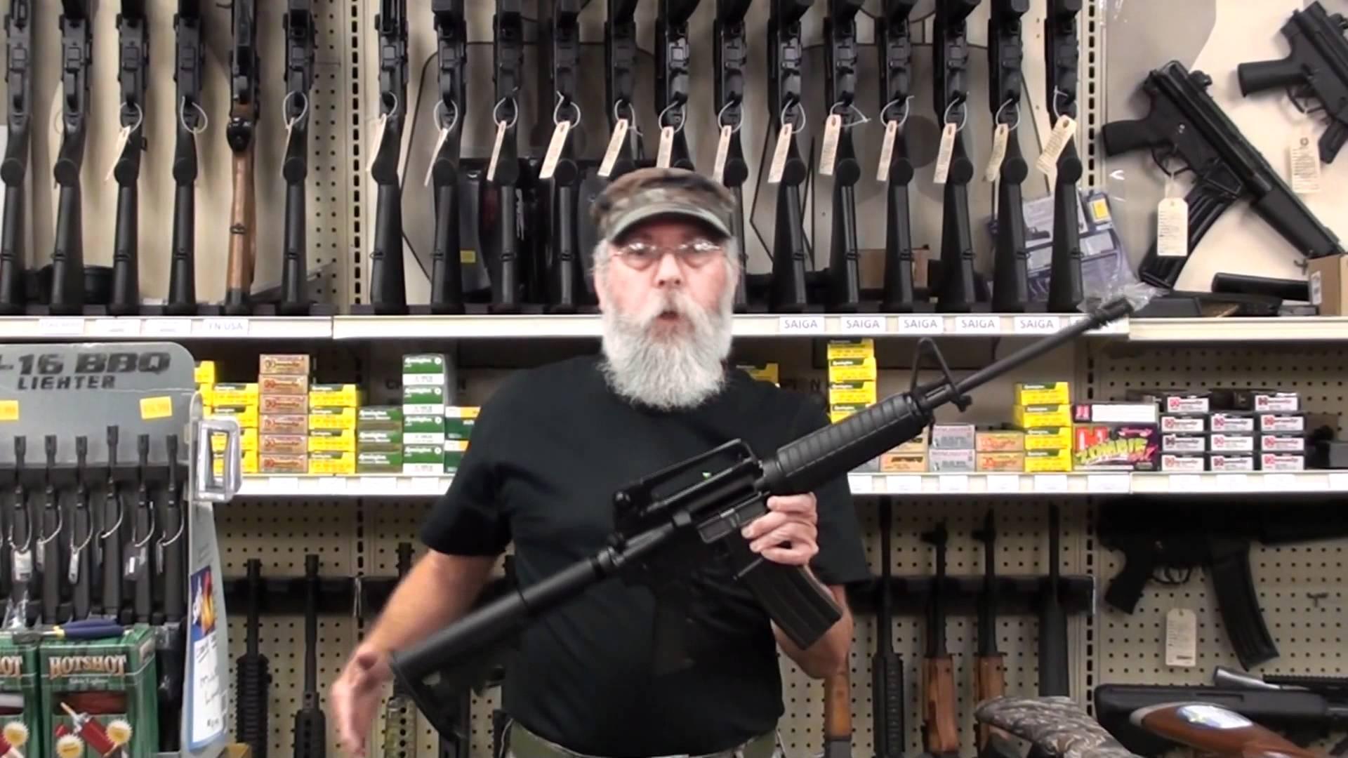 """5 vapen som varje amerikan """"borde"""" äga"""