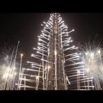 Fyrverkeri på nyår i Dubai 2014 (video)