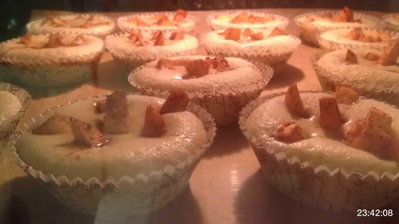 Muffins time lapse – Bakning på 24 sekunder
