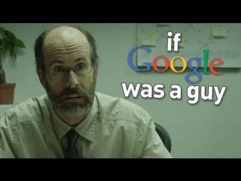 Om Google hade varit en person (video)