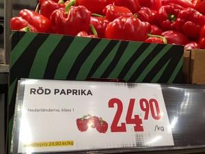 paprika röd lösvikt pris