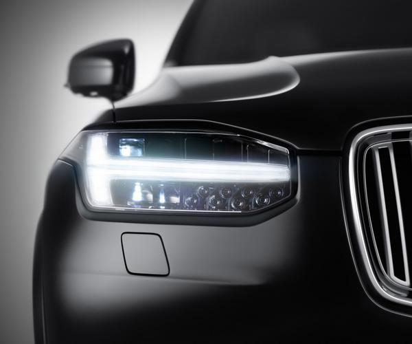 Första bilden på nya Volvo XC90 (exteriör)