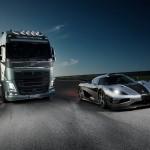 Volvo trucks VS Koenigsegg One:1