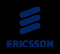 Ericsson logo tre korvar