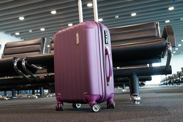 i handbagaget på flyget