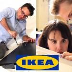 Vilket par bygger ihop IKEA-möbeln först? (video)