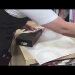 Slå in paket diagonalt och spara 20 % papper! (miljön)